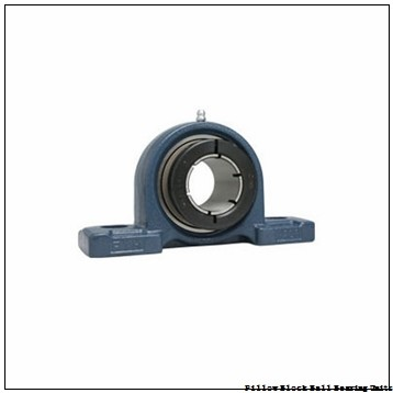 0.6250 in x 3-3/8 to 4-1/8 in x 1-7/32 in  Sealmaster NPL 10 DBB Pillow Block Ball Bearing Units
