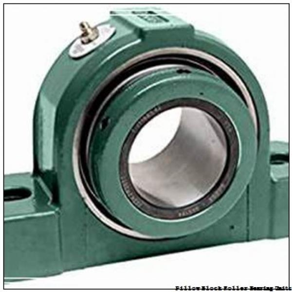 5.9375 in x 19-3/8 to 21-5/8 in x 8-1/8 in  Rexnord ZAFS5515F Pillow Block Roller Bearing Units #1 image