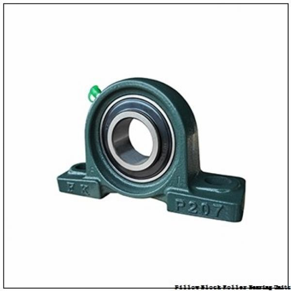5.9375 in x 19-3/8 to 21-5/8 in x 8-1/8 in  Rexnord MAFS5515F Pillow Block Roller Bearing Units #1 image